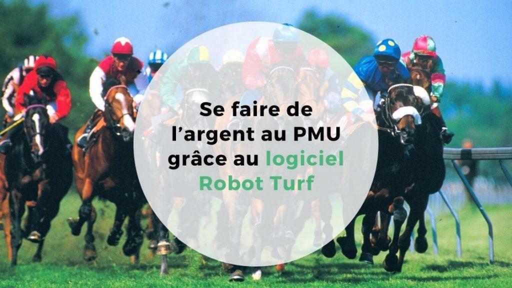 logiciel Robot Turf